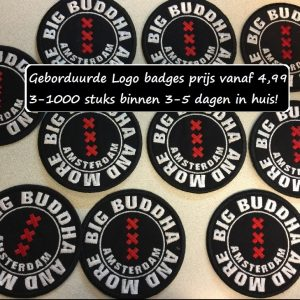 badges patches logo borduren