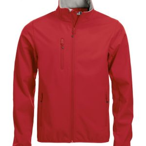 Softshell Jas Heren 020910 Clique rood