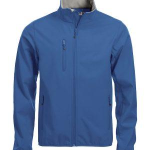 Softshell Jas Heren 020910 Clique kobalt blauw