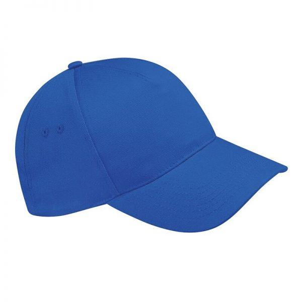 BC015 cap kobalt blauw