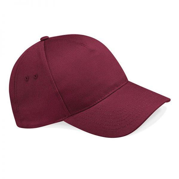 BC015 cap bordeaux rood