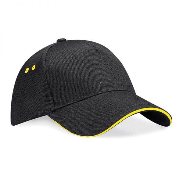 BC15C cap zwart/geel