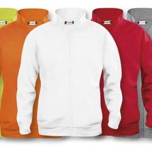 Basic Vest met rits 021038 Clique Heren
