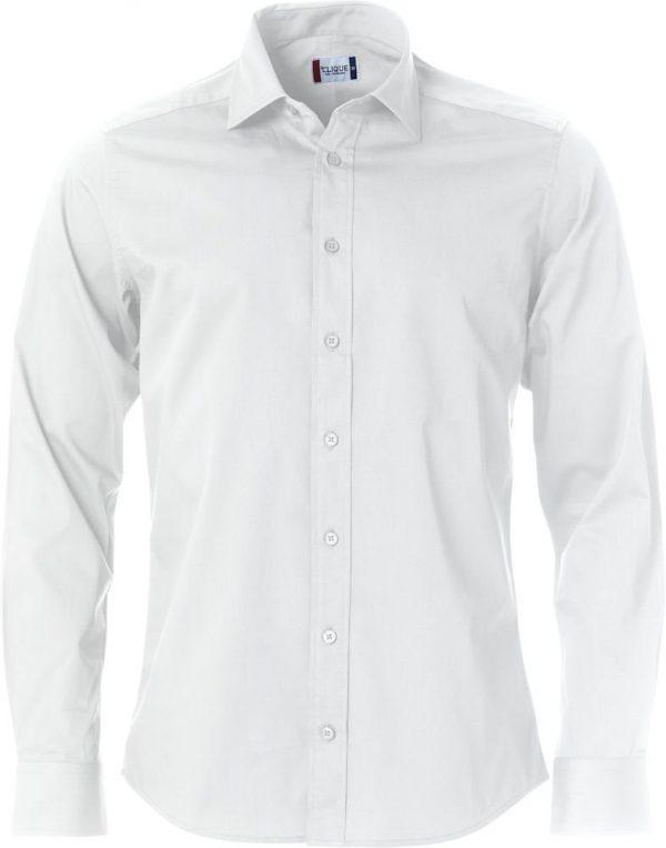 Clark Overhemd Heren 027950 Clique wit