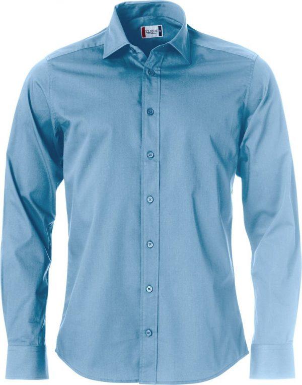 Clark Overhemd Heren 027950 Clique lichtblauw
