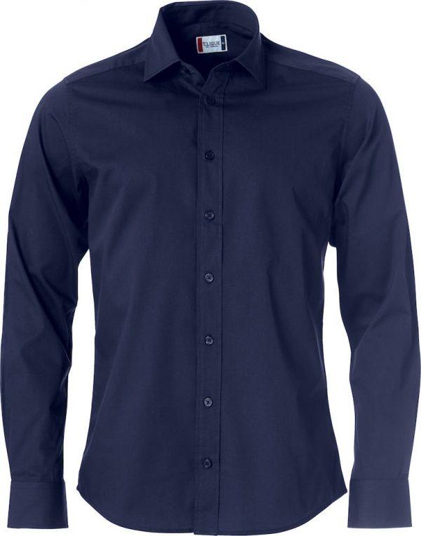 Clark Overhemd Heren 027950 Clique dark navy