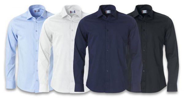 Clark Overhemd Heren 027950 Clique bedrijfskleding