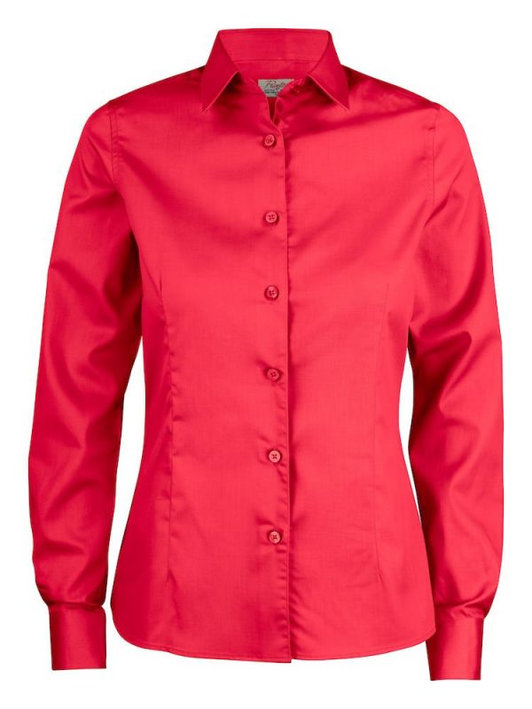Point Blouse Dames 2263016 Printer rood