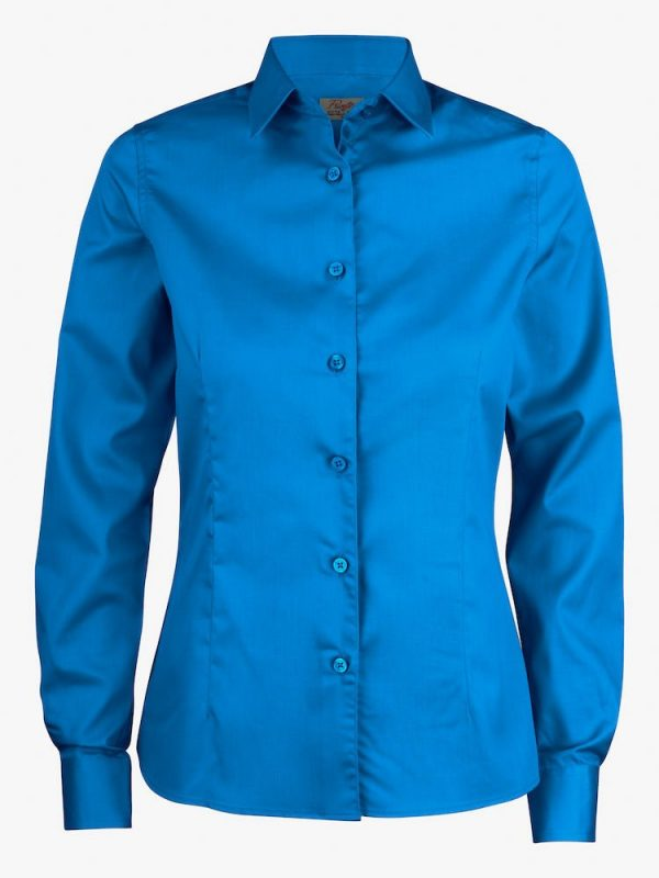 Point Blouse Dames 2263016 Printer oceaanblauw