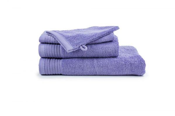 borduren goedkope handdoeken 450 grams licht paars lila