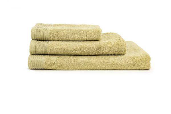 borduren goedkope handdoeken 450 grams mosterd geel