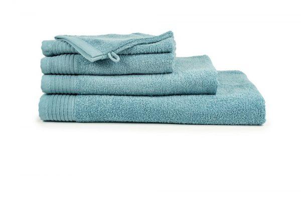 borduren goedkope handdoeken 450 grams petrol blauw