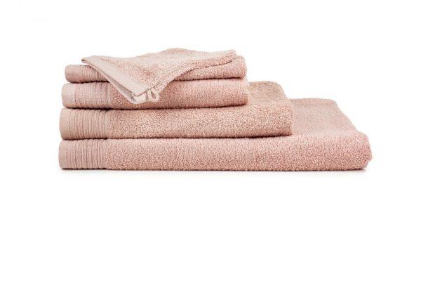 borduren goedkope handdoeken 450 grams zalm roze