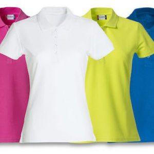 Basic Polo Dames 028231 9,95 bedrijfskleding Clique goedkope poloshirts evenementen