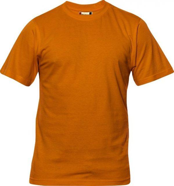 Heavy T-Shirt heren 029340 diep oranje