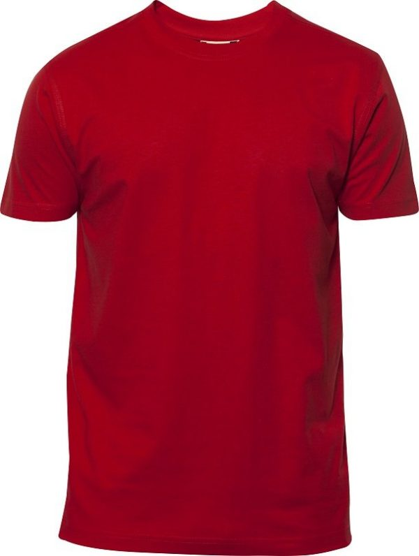 Heavy T-Shirt heren 029340 rood