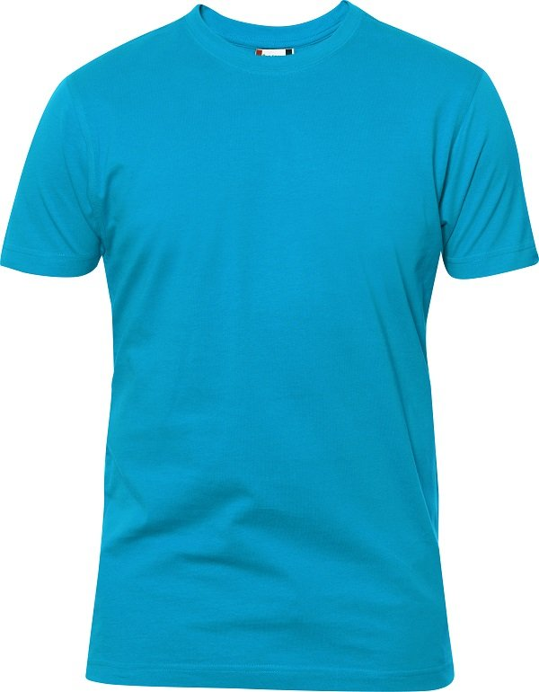 Heavy T-Shirt heren 029340 turqoise