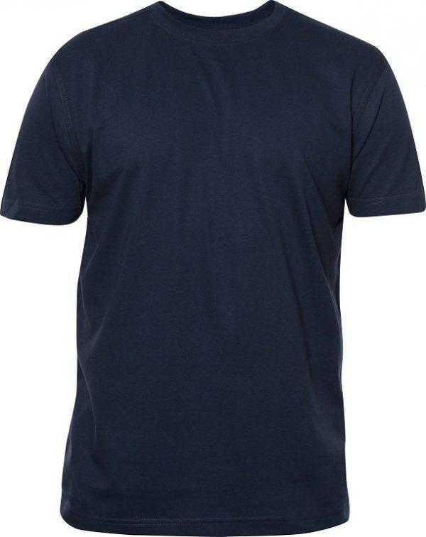Heavy T-Shirt heren 029340 donkerblauw