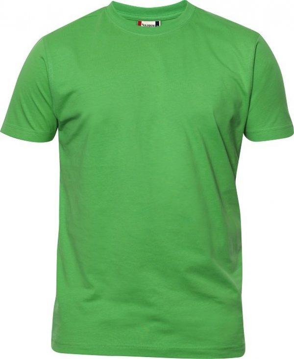 Heavy T-Shirt heren 029340 appelgroen