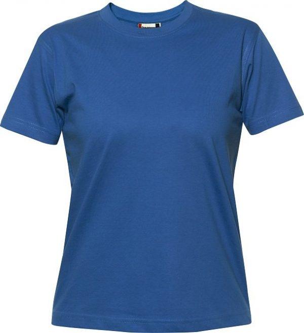 029341 heavy t-shirts dames Clique kobaltblauw