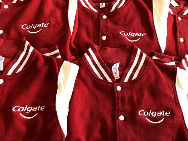 Baseball vesten logo borduren