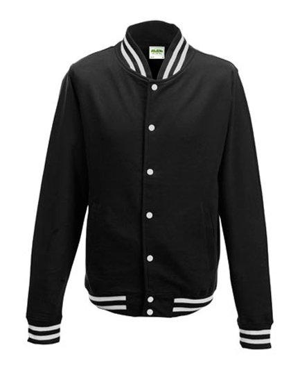 JH041 Baseball vest zwart (jet black)