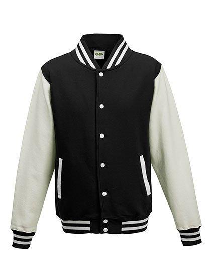 JH043 baseball vest jet black /white
