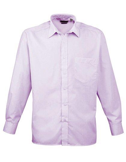 PW200 overhemd lila (lilac) borduren met logo of tekst