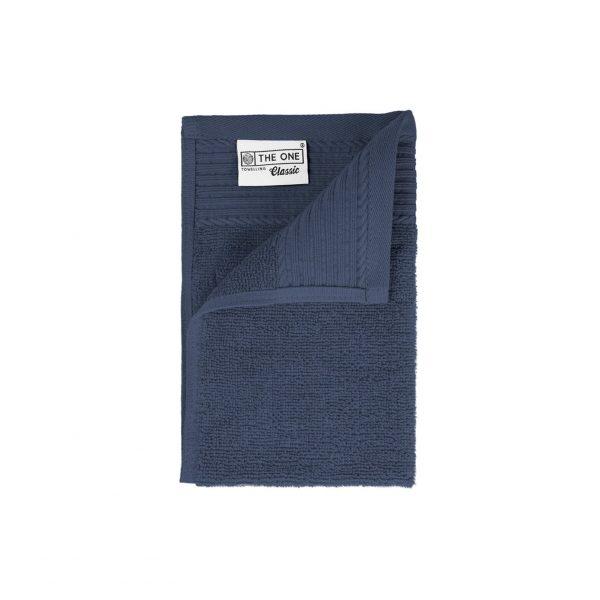 30 x 50 Gastendoeken 500 grams badstof jeansblauw