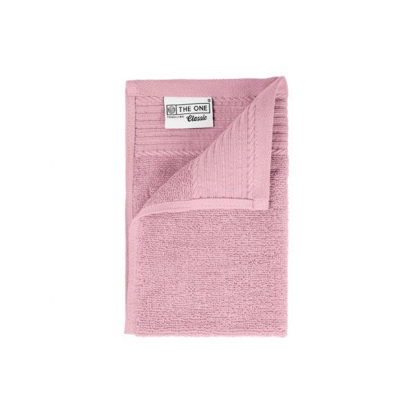 30 x 50 Gastendoeken 500 grams badstof licht roze