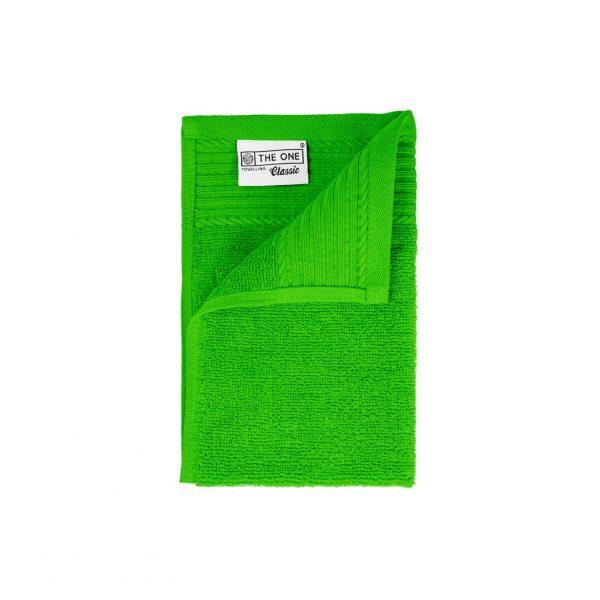 30 x 50 Gastendoeken 500 grams badstof limoen groen