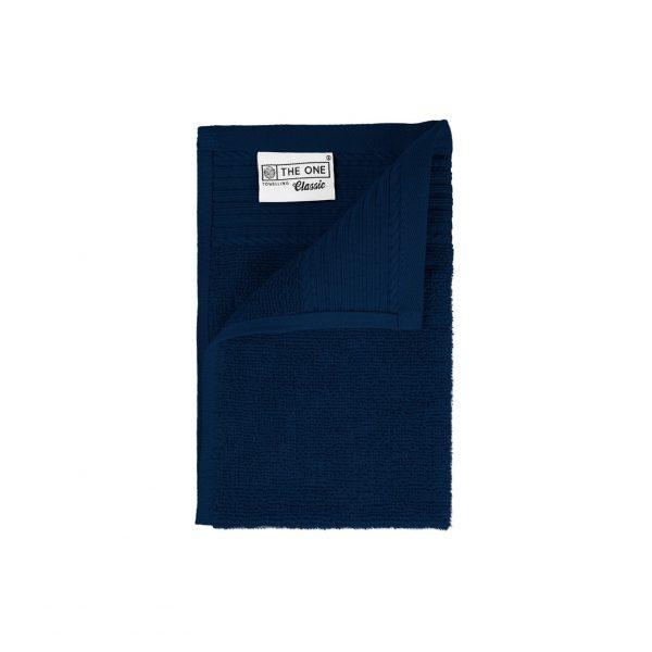 30 x 50 Gastendoeken 500 grams badstof donkerblauw