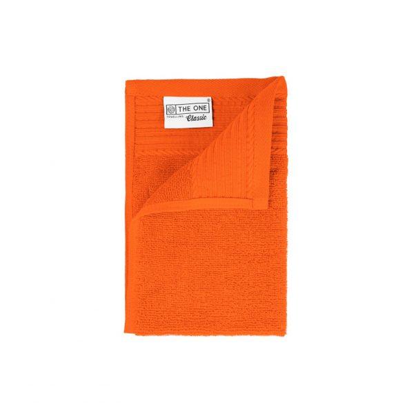 30 x 50 Gastendoeken 500 grams badstof oranje