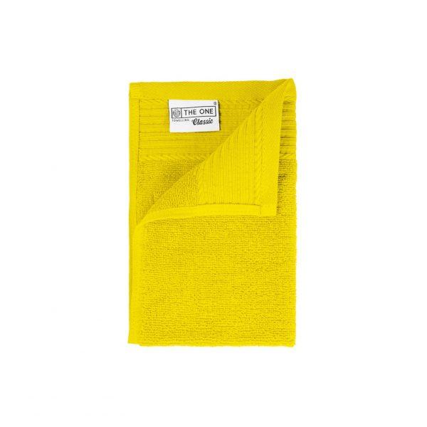 30 x 50 Gastendoeken 500 grams badstof geel