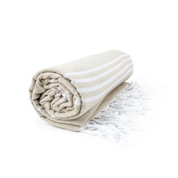 HAMAM handdoek 100 x 180 cm Sultan beige