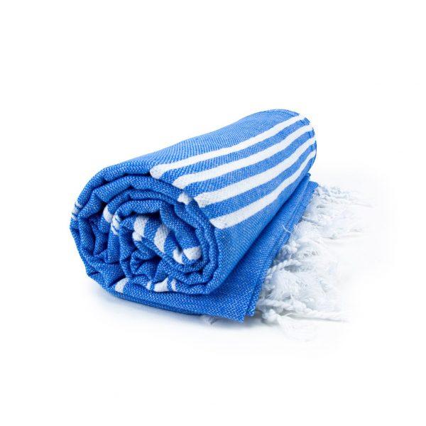 HAMAM handdoek 100 x 180 cm Sultan blauw