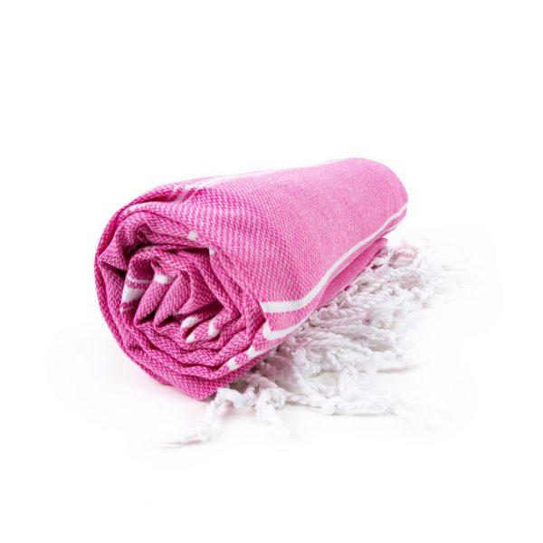 HAMAM handdoek 100 x 180 cm Sultan roze