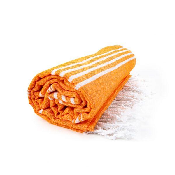 HAMAM handdoek 100 x 180 cm Sultan oranje