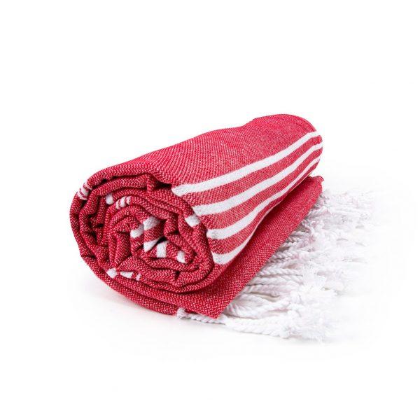 HAMAM handdoek 100 x 180 cm Sultan rood