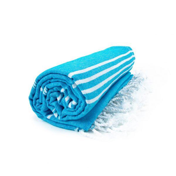 HAMAM handdoek 100 x 180 cm Sultan aquablauw turkoois