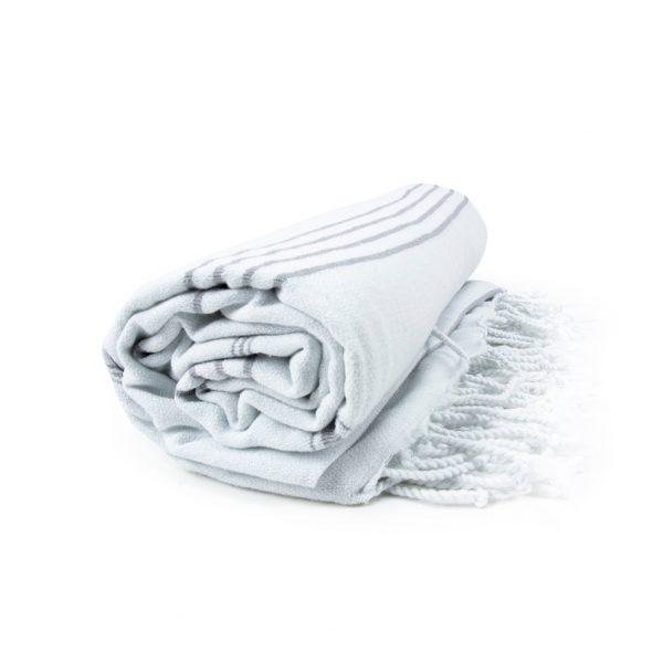 HAMAM handdoek 100 x 180 cm Sultan wit