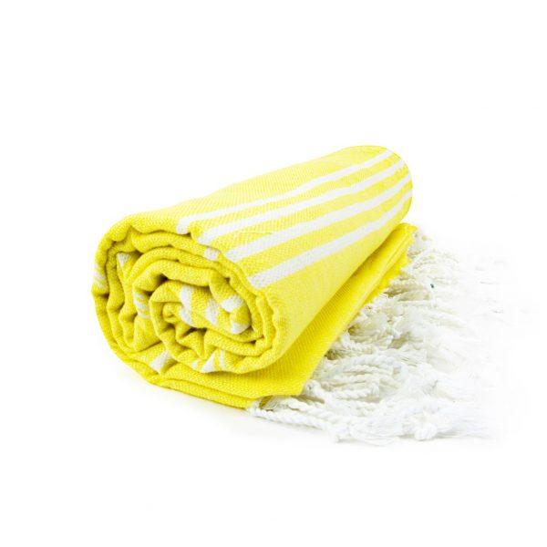 HAMAM handdoek 100 x 180 cm Sultan geel