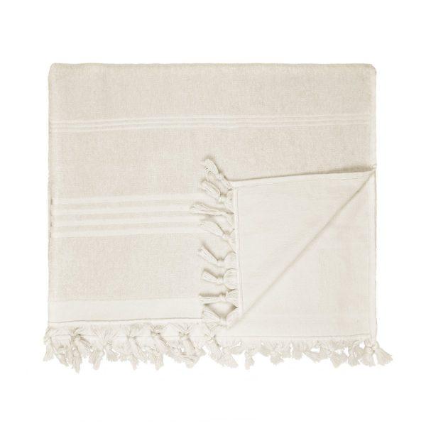 HAMAM handdoek 100 x 165 cm Terry zand