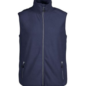 Sideflip Fleece Bodywarmer heren 2261512 Printer marine navy donkerblauw