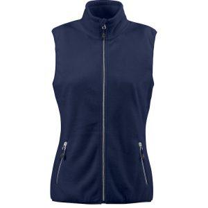 Sideflip dames vest 2261507 printer marine donkerblauw navy