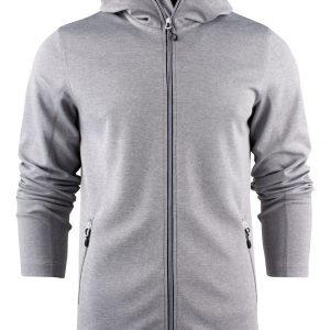 Layback Sport Vest met Capuchon heren Printer 2262056 grijs melee