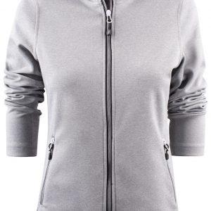 Layback Sport Vest met Capuchon Dames 2262057 Printer grijs melee