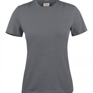 Heavy T-Shirt dames 2264014 staalgrijs