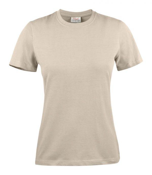 Heavy T-Shirt dames 2264014 zand