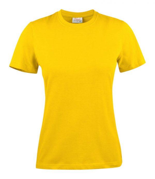 Heavy T-Shirt dames 2264014 citroen geel